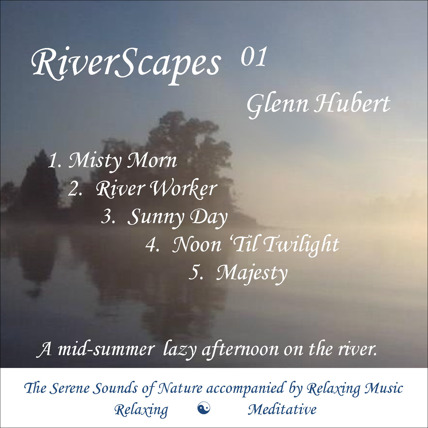 RiverScapes 01 - Glenn Hubert CD front