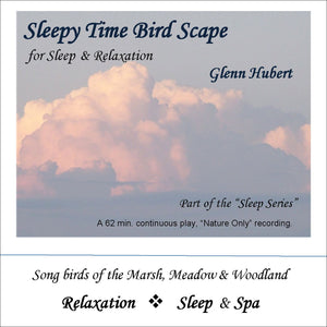 Sleepy Time Bird Scape Glenn Hubert CD front
