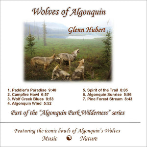 Wolves of Algonquin Glenn Hubert  CD Front Cover
