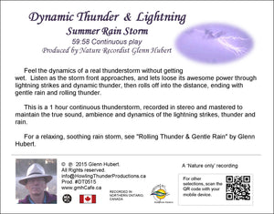 Dynamic Thunder & Lightning - Summer Rain