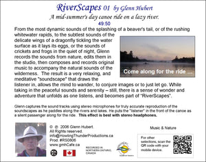 RiverScapes 01 - Glenn Hubert CD back
