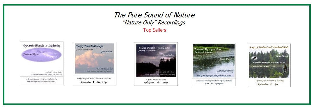 The Pure Sounds of Nature