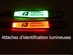 Attache d'identification lumineuses