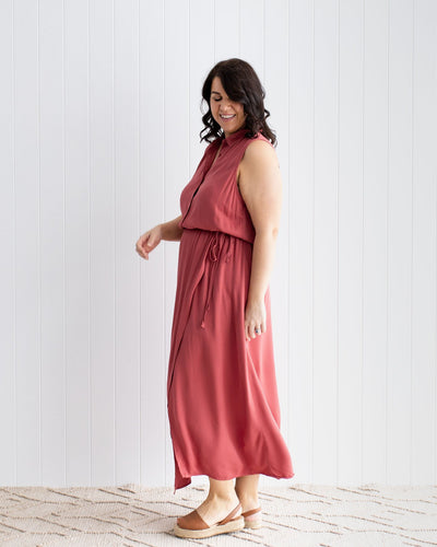 Elevated Breastfeeding Shirt Dress | MOOLK