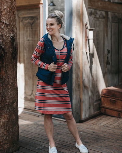 Long Sleeve Nursing Dress Designed in Australia | MOOLK