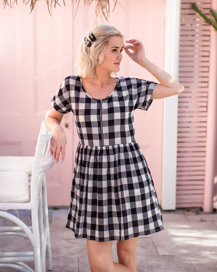 Molly Dress - Gingham
