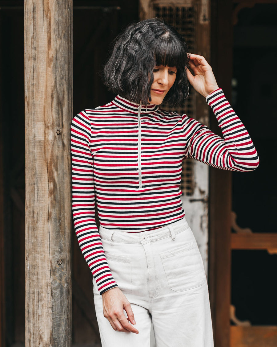 Anthea Rib Top - Patriot