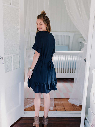 Breastfeeding Friendly Party Dresses with Zips  | MOOLK