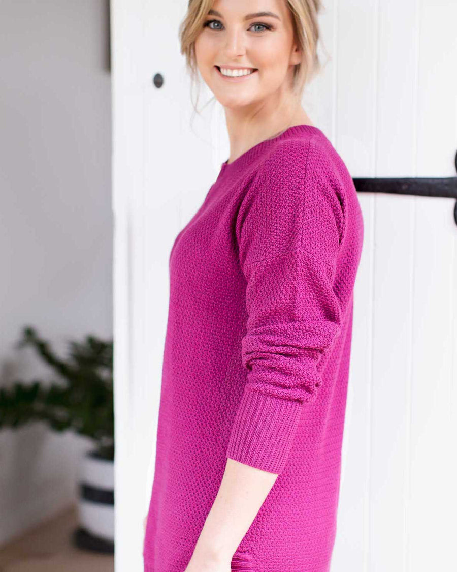 Kempsey Knit - Mulled Wine