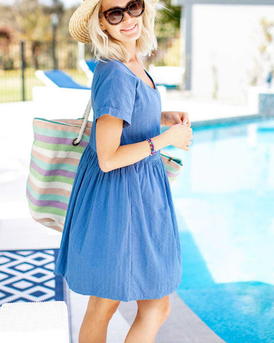 Summery Zip Front Dresses for Breastfeeding Mums  | MOOLK