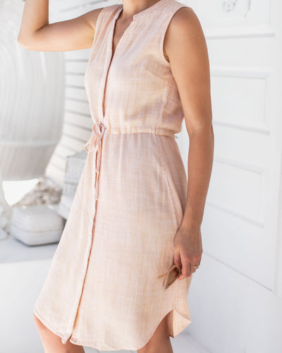 Classic Button Front Shirt Dress for Easy Breastfeeding | MOOLK