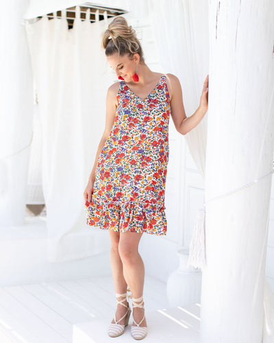 Chloe Dress - Summer Bloom