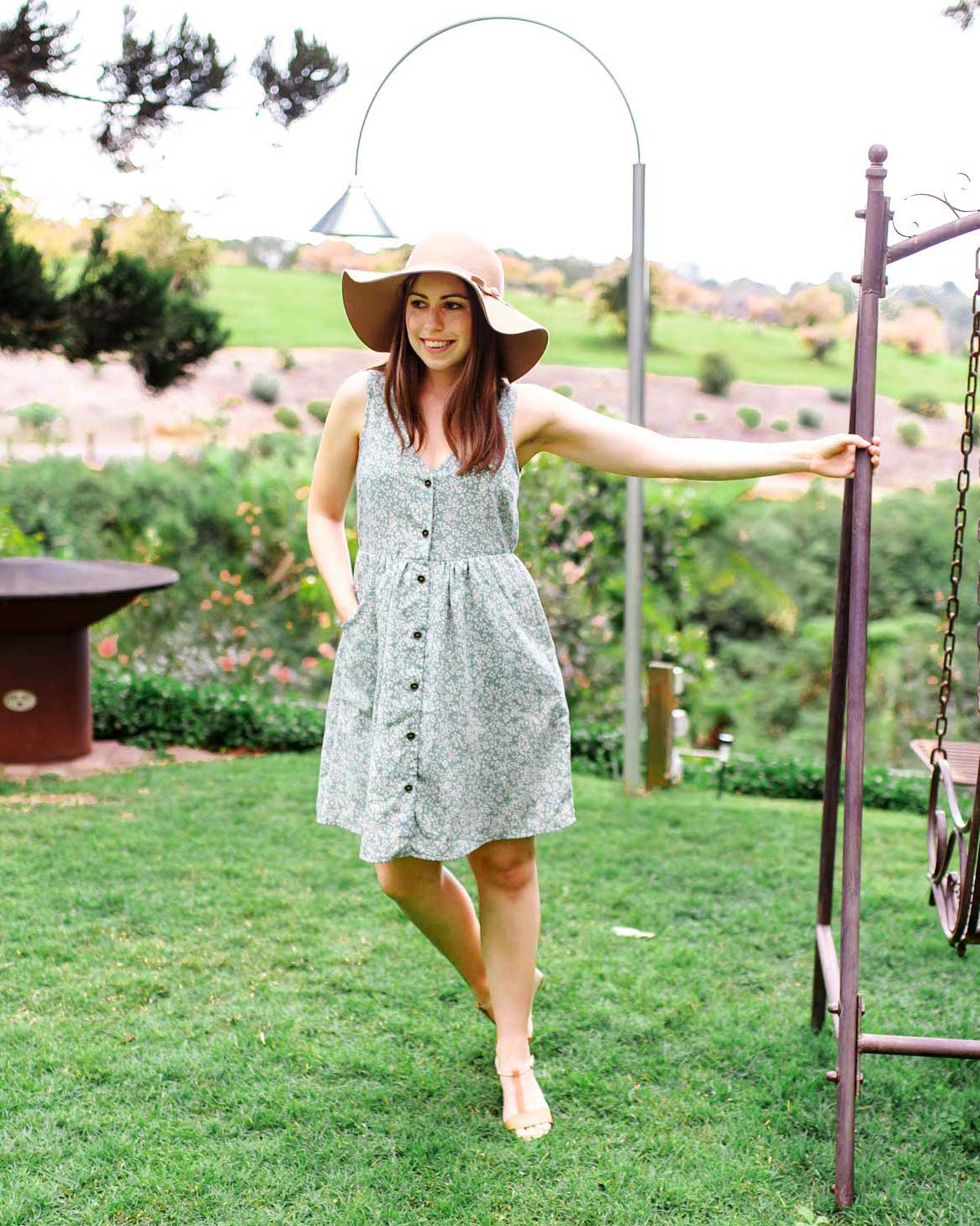 Summery Feeding Friendly Dresses with Buttons | MOOLK