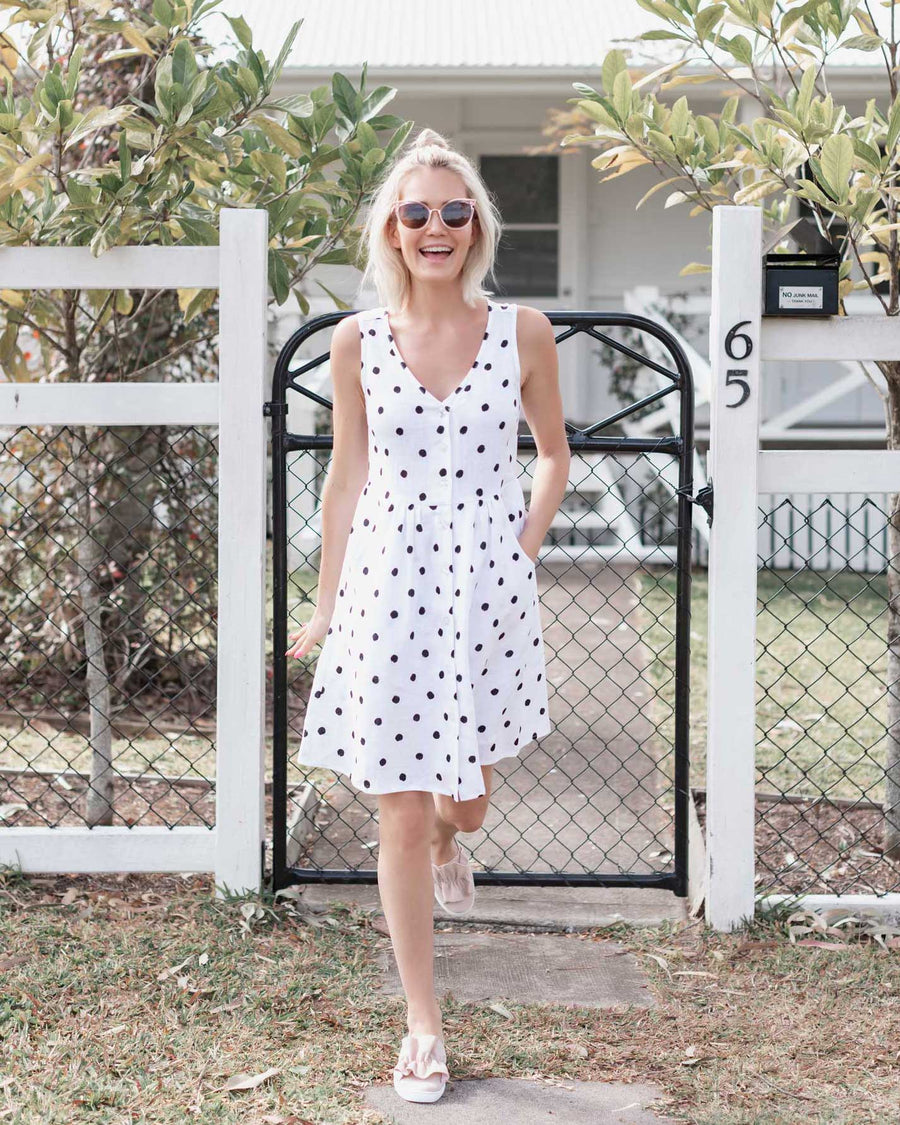 Mia Dress - Polka