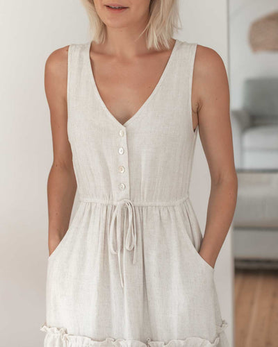Breastfeeding Friendly Summer Dresses with Buttons | MOOLK