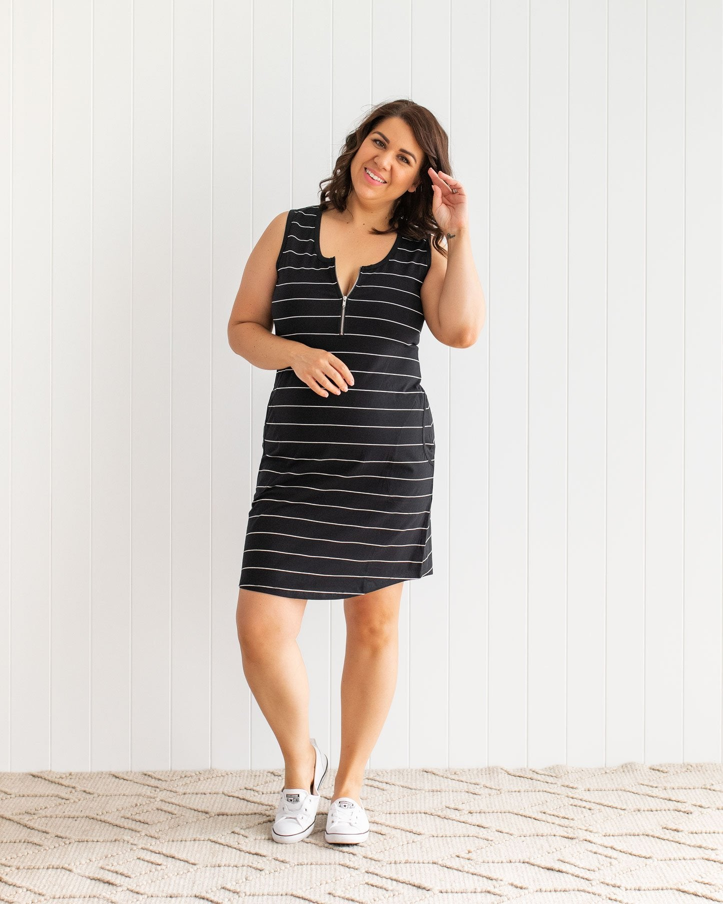 Breastfeeding Friendly Lounge Dress | MOOLK