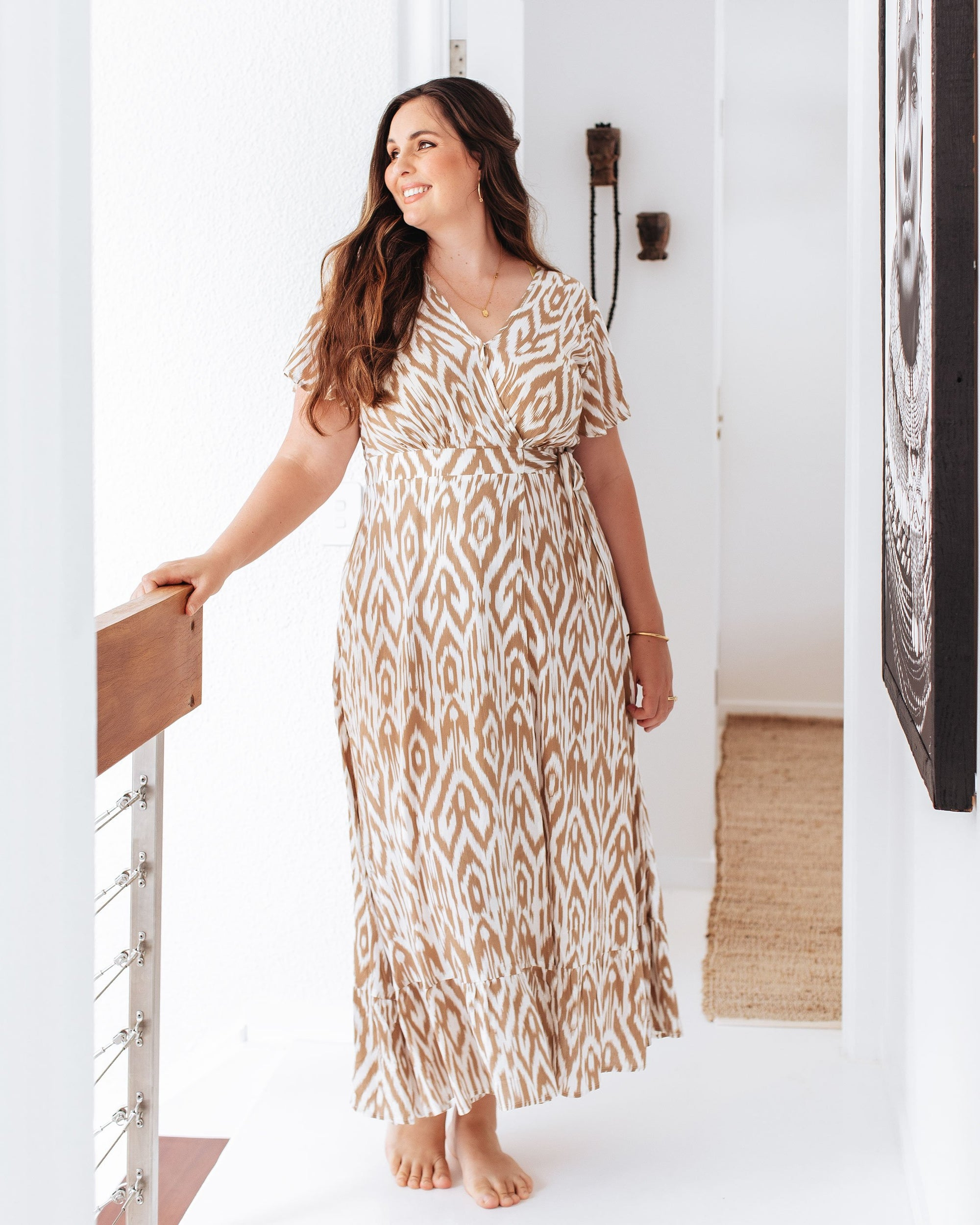 Statement Breastfeeding-Friendly Maxi Dresses   |   MOOLK