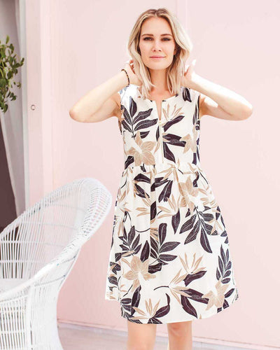 Tully Dress - Woodland