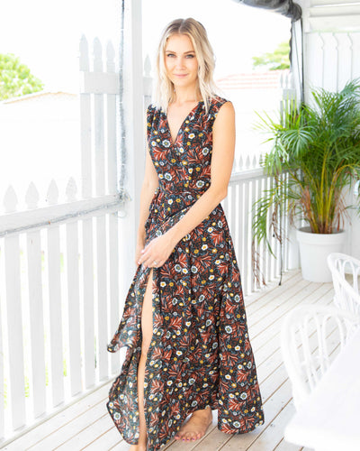 Flora Maxi Dress - Wildflower