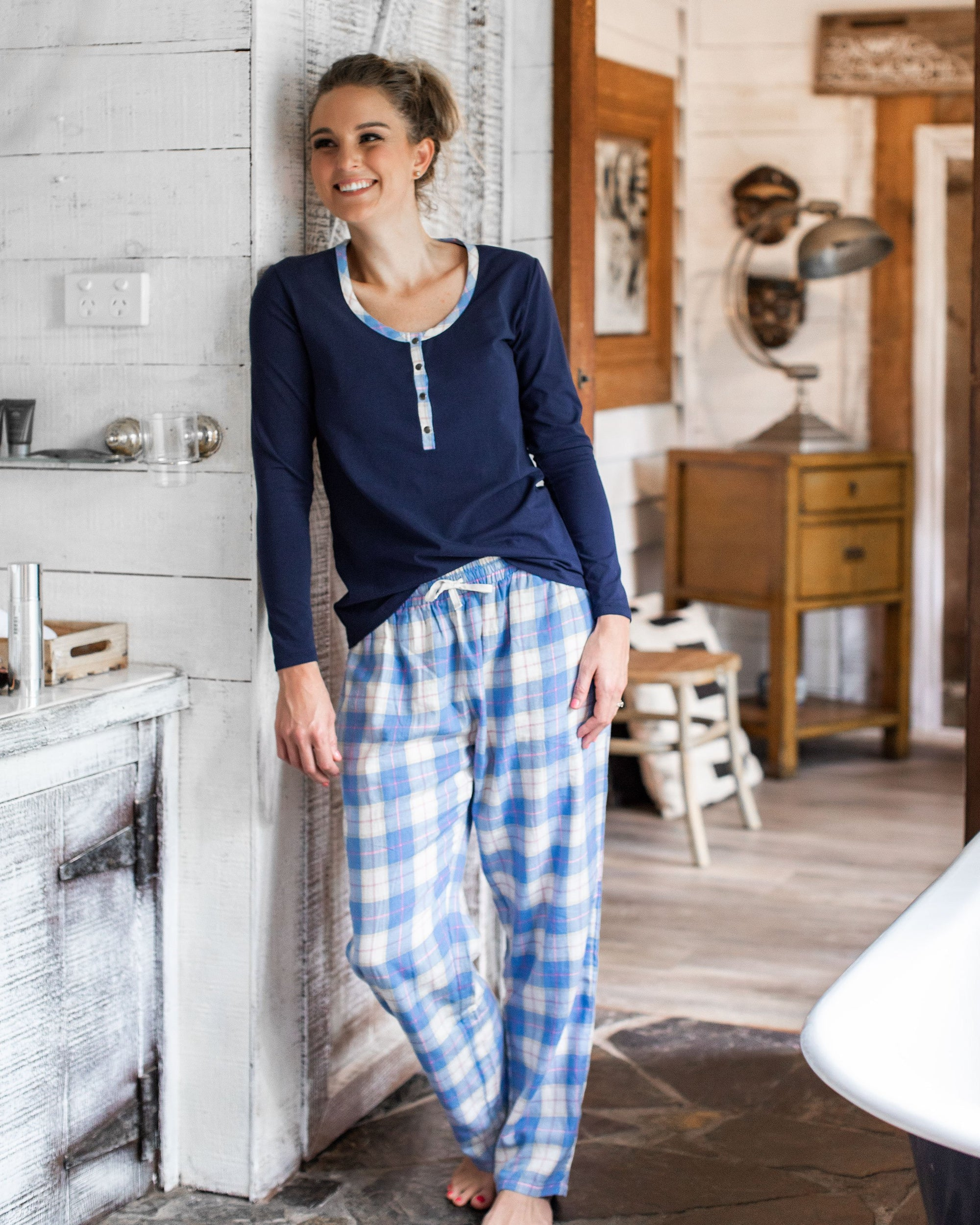 Winter Pj's - Navy