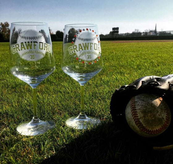 Giants Brandon Crawford Wine Set