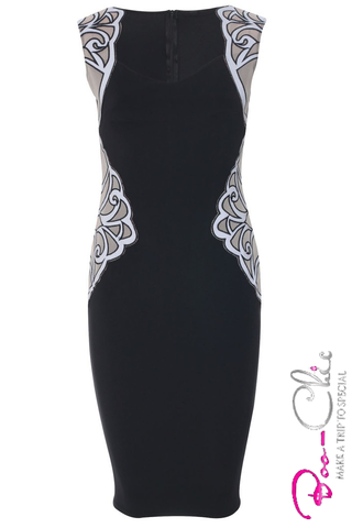 .Curve Creating - Mesh Midi BLACK