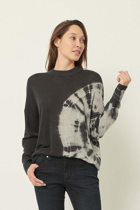 RADIAL DYE SOFT SILK JUMPER