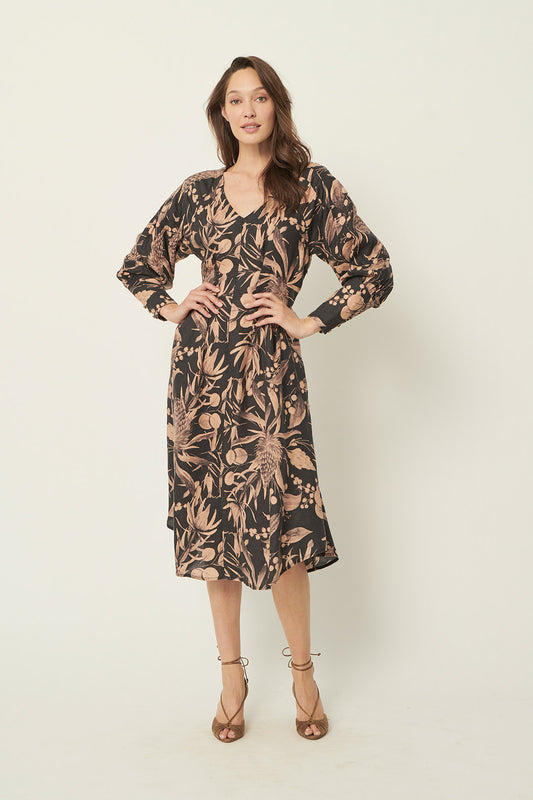 TERA BANKSIA HEMP DRESS