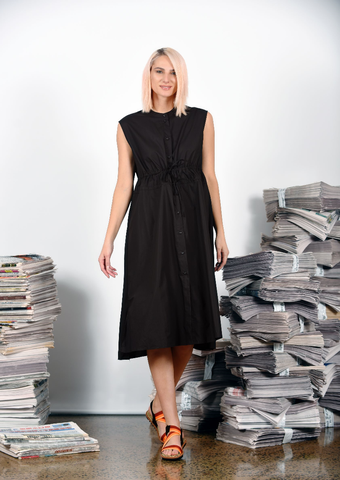 MA Dainty - Editors Dress - Black