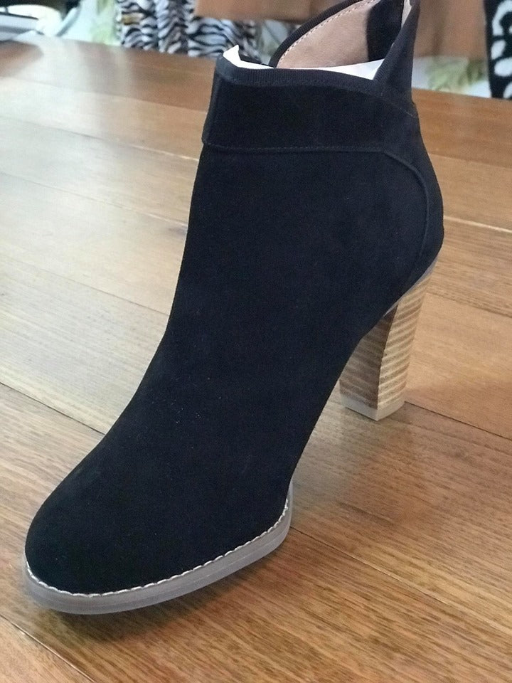 Valeria Grossi Maly-W Boot - Suede Black