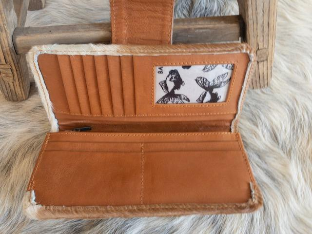 ZALI Wallet - Bare Leather