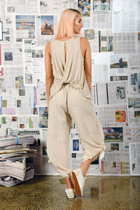 MA Dainty - McGehee Pants -Natural/Brie