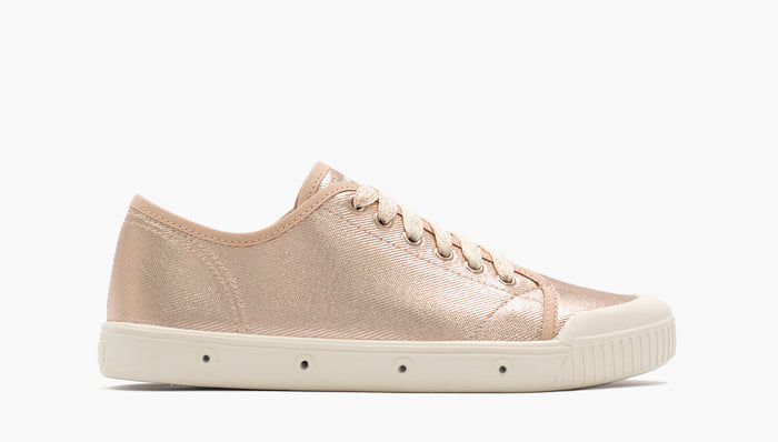 Rose Gold Waxy Heavy Twill - Spring Court G2S