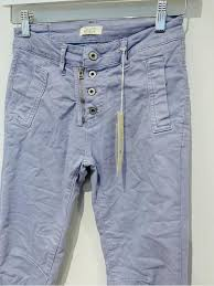 Copy of Italian Star Button Jeans - Ice Blue