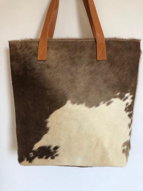 BORRIS Tote- Leather Back