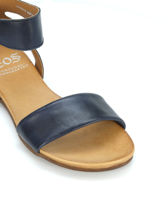 EOS Lauren - Navy Sandals