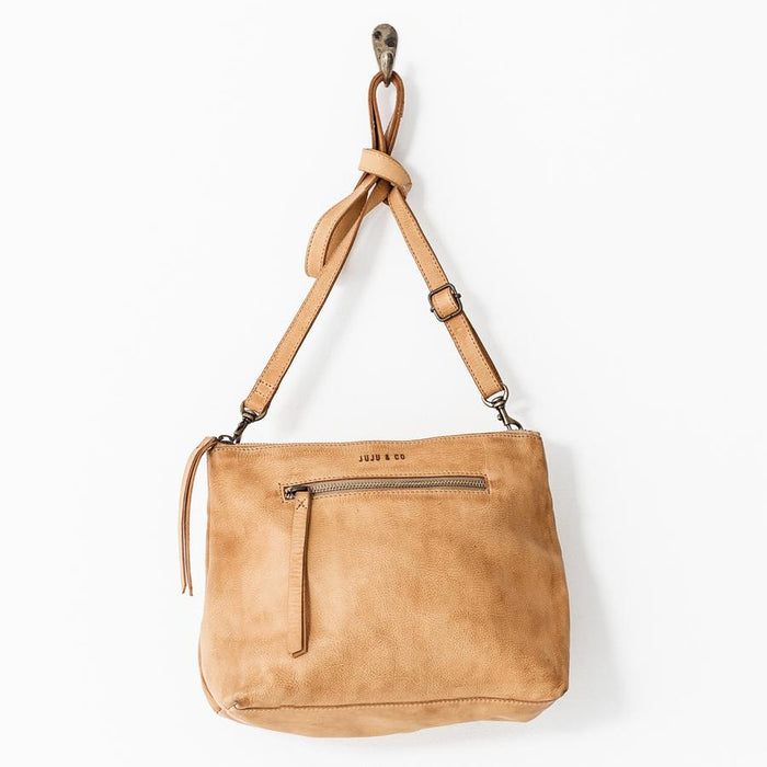 Large Essential Pouch Bag - Cognac