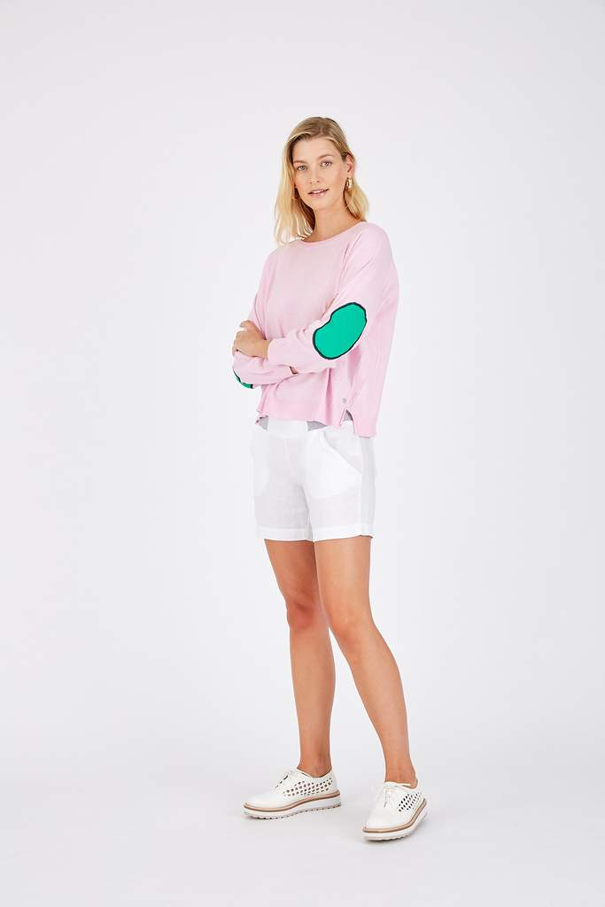 CAMILLA SWEATER IN SHELL