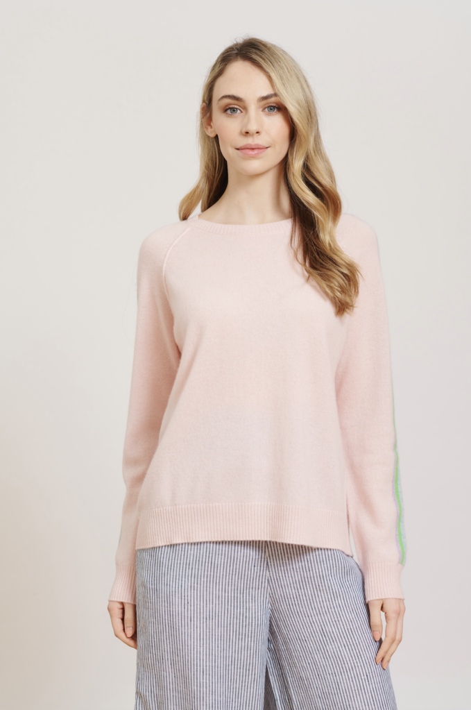 RAZZLE DAZZLE SWEATER IN BALLET