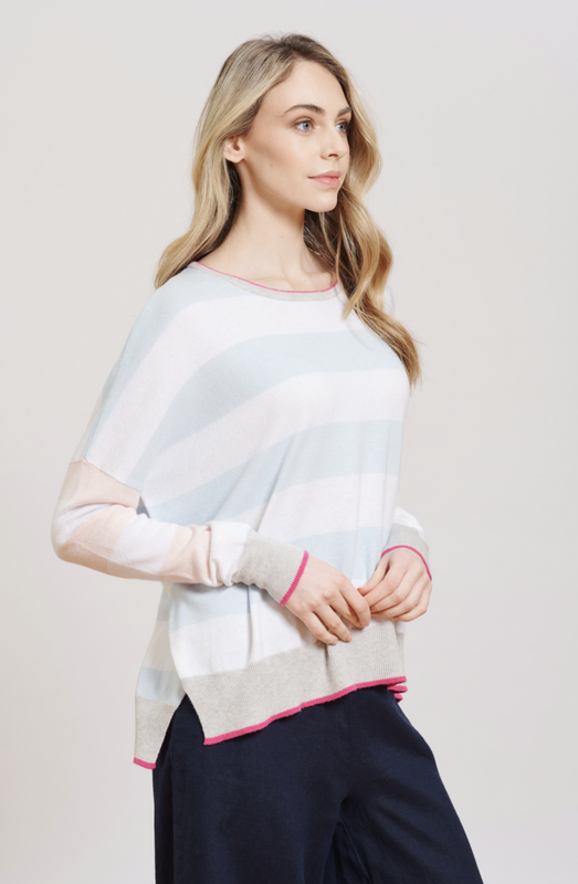 QUIRKY JILL SWEATER IN PASTEL