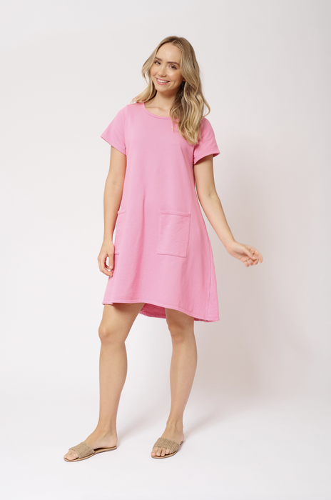 PARADISO COTTON DRESS IN LOLLY