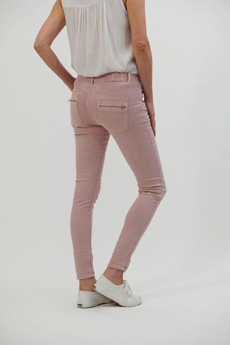 Button Jeans - Musk (soft Pink)