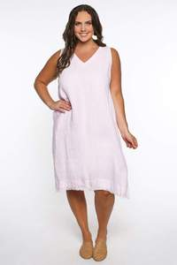 Lenni Dress in Pastel Pink $129.99
