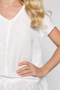 Lawrence Top in White