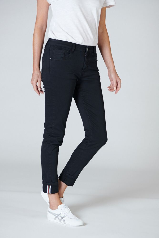 CLASSIC POLO JEANS IN BLACK