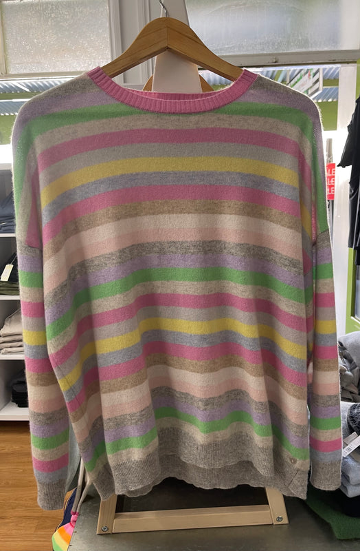 VAN GOGH CASHMERE SWEATER IN PASTEL