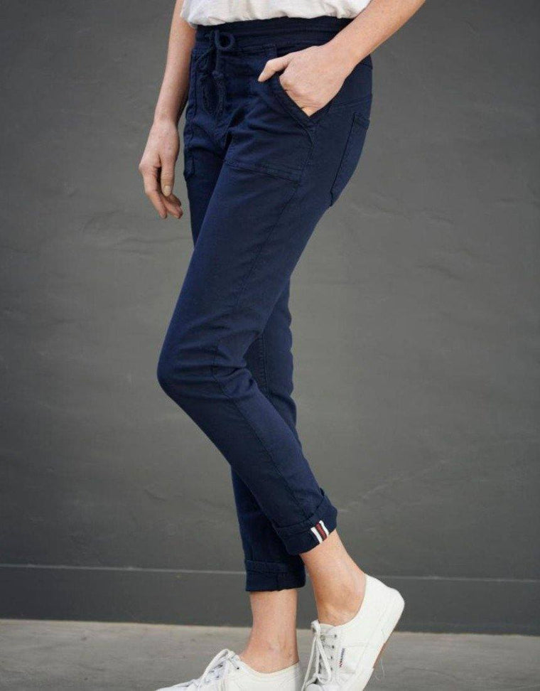 CLASSIC POLO JOGGER IN NAVY