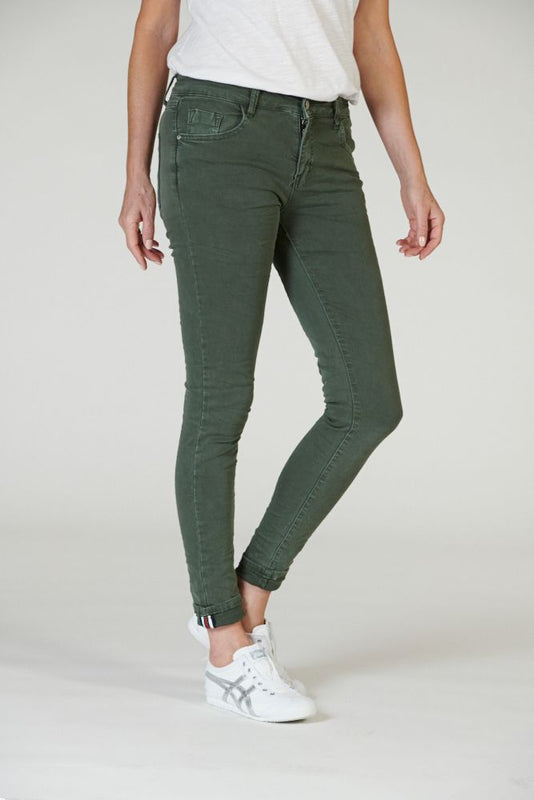 CLASSIC POLO JEAN IN MILITARY
