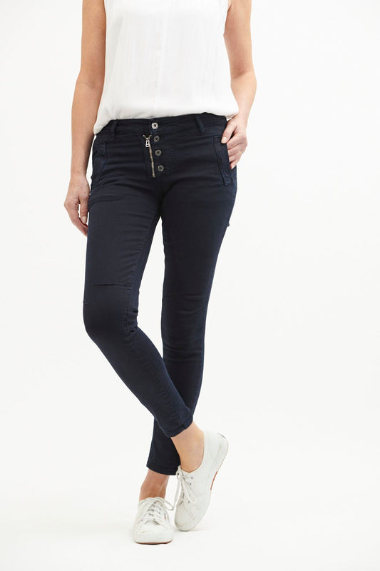 Button Jeans Indigo - Navy