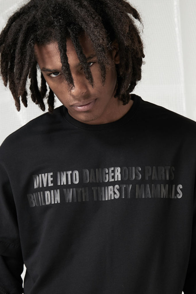 Dive into dangerous parts Tee